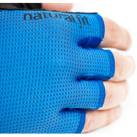 Cube X NF Short Finger Gloves, negro/azul